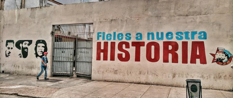 Mural in Havana